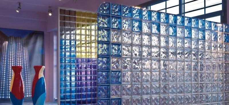 Világos belső terek - Üvegtégla Center