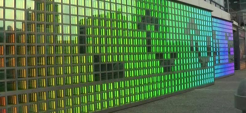 Üvegtégla fal - Webáruház